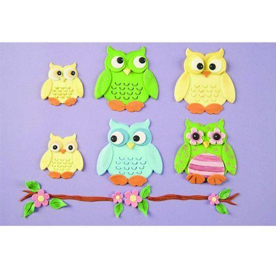 Patchwork Cutter & Embosser Owl