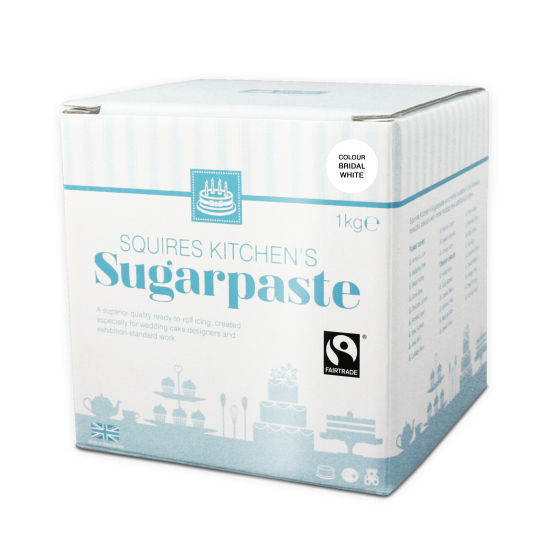 SK Fairtrade Sugarpaste Bridal White 1kg