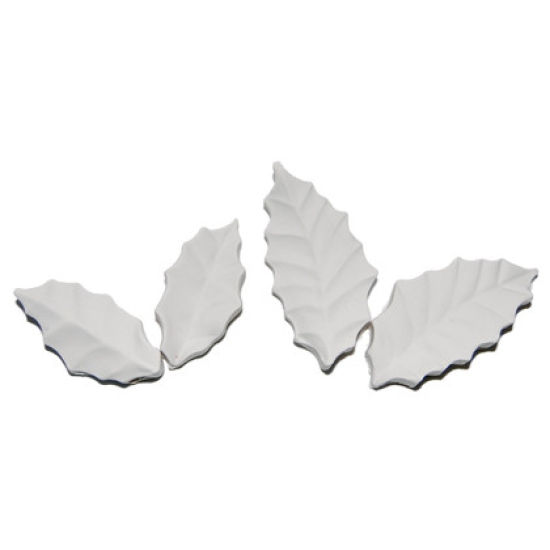 SK-GI Leaf Veiner Holly Set of 2 5.5/4.5cm