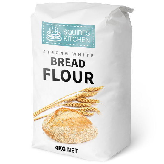 SK Strong White Bread Flour Professional 4kg