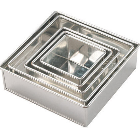 Invicta Square Cake Tin 152mm (6'')