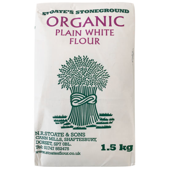 Organic Plain White Flour 1.5kg
