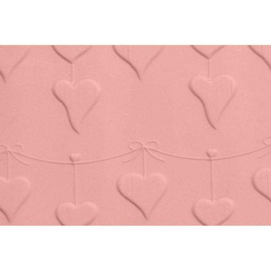 FMM Heart Bunting Embossed Rolling Pin