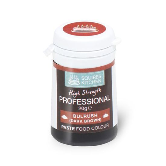 SK Professional Food Colour Paste Bulrush (Dark Brown) 20g