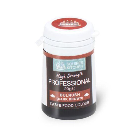 SK Professional Food Colour Paste Bulrush (Dark Brown) 20g