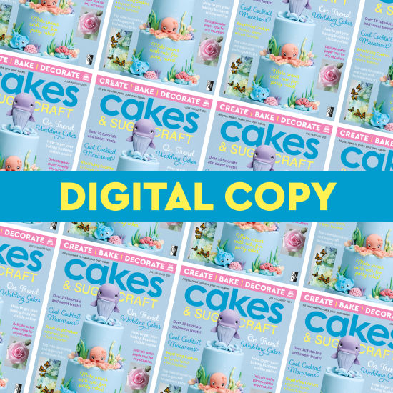 Cakes & Sugarcraft Magazine 164 - Digital Copy