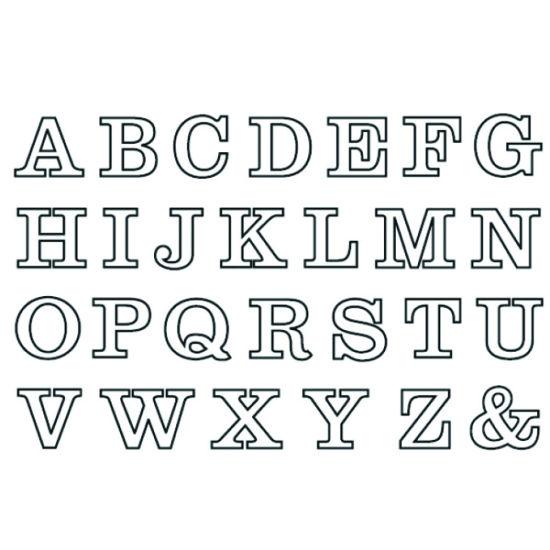 Patchwork Cutter & Embosser Alphabet Lower Case