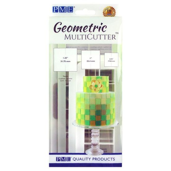 PME Geometric MultiCutter - Squares Set of 3