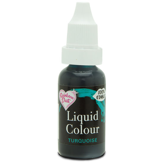 Rainbow Dust Liquid Colour - Turquoise 19g