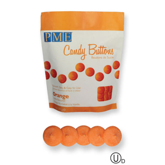 PME Candy Buttons - Orange 340g (12oz)