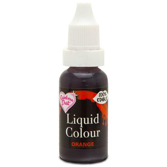 Rainbow Dust Liquid Colour - Orange 19g