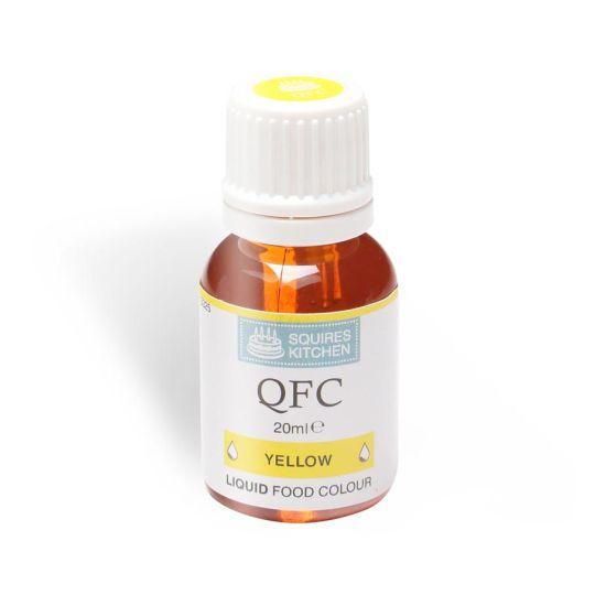 SK QFC Quality Food Colour Liquid Yellow 20ml