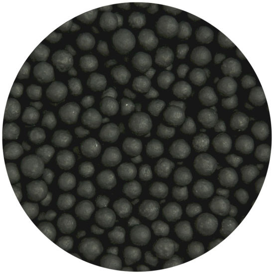 Scrumptious Sugar 4mm Pearls Matt Black 80g