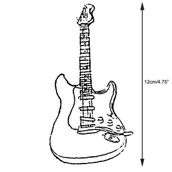 Patchwork Cutter & Embosser Electric Guitar