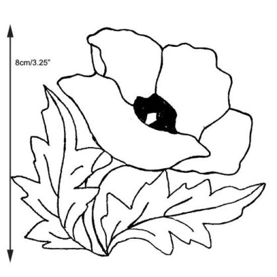 Patchwork Cutter & Embosser Poppy