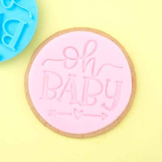 Sweet Stamp Oh Baby Cupcake Embosser