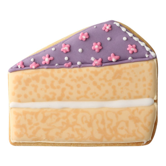 SK Teatime Cake Slice Cookie Cutter