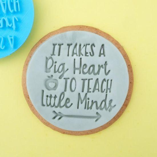 Sweet Stamp Big Heart Little Minds Cupcake Embosser