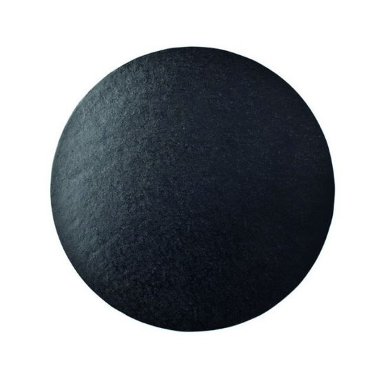 Black Drum 1/2 Inch Thick Round 8 Inch