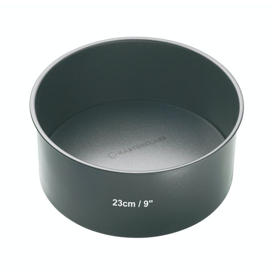 MasterClass Non-Stick 23cm Round Loose Base Deep Cake Pan