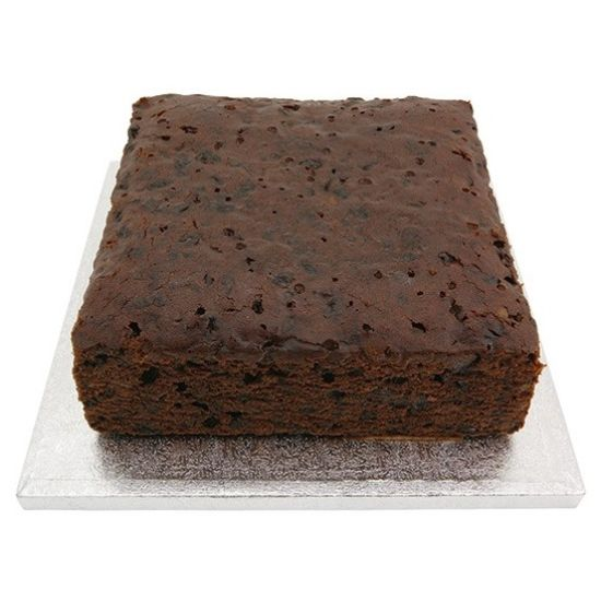Square Rich Fruit Cake 9 Inch
