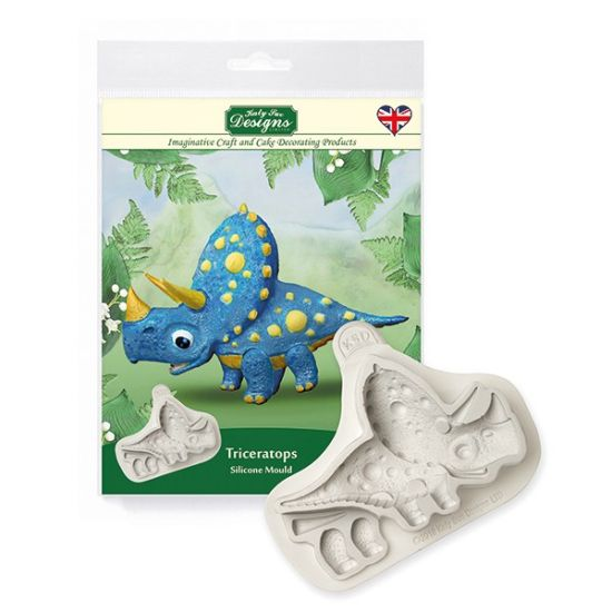 Katy Sue Designs Triceratops Mould