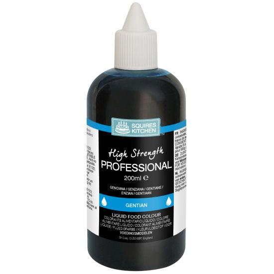 SK Professional Food Colour Liquid Gentian (Ice Blue)