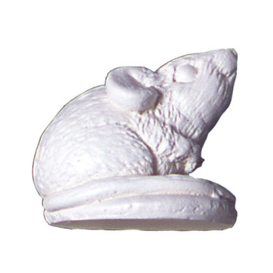 SK-GI Silicone Mould D Mouse (Crouching)