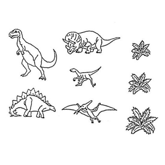 Patchwork Cutter & Embosser Dinosaurs