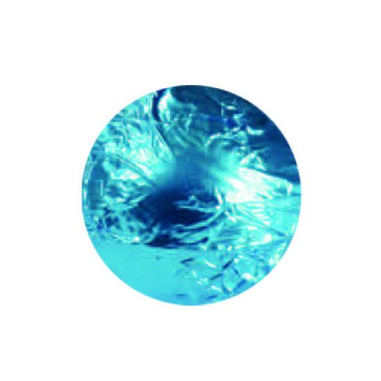 Turquoise Blue Foil Wraps 8x8cm