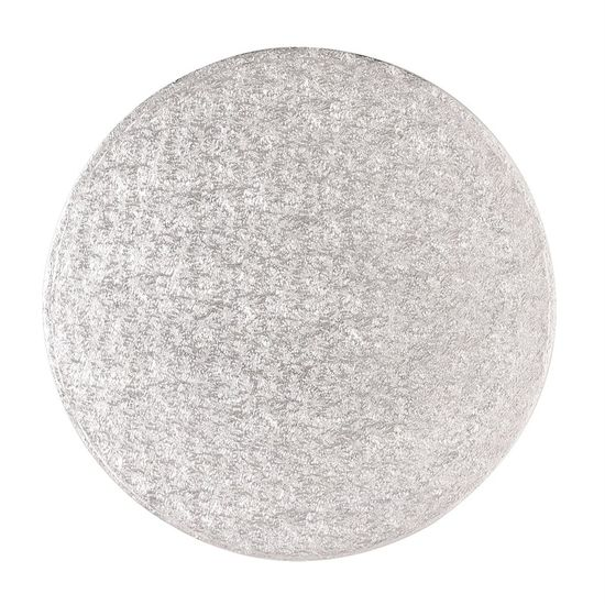 Silver Drum 1/2 Inch Thick Round 10 Inch - Pack of 5