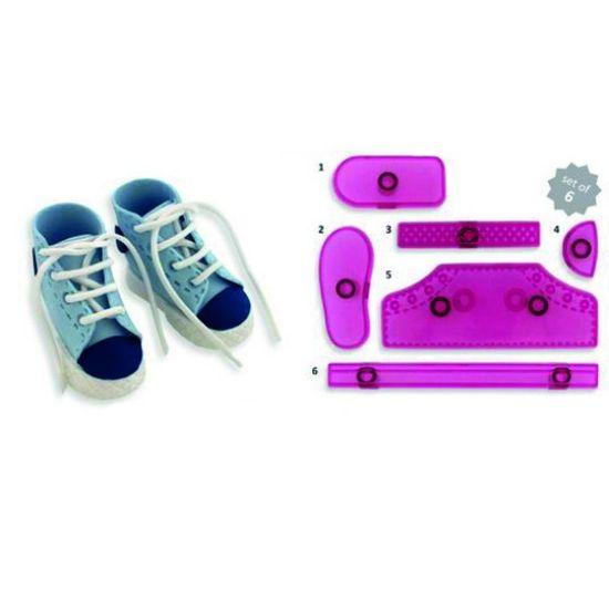 Jem 3D High Cut Sneaker Cutter Set