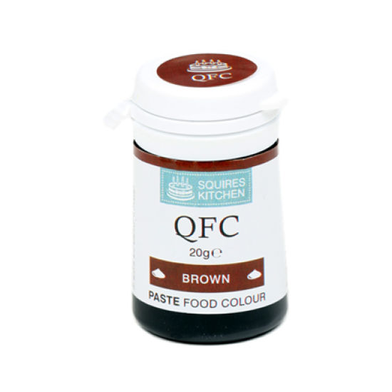 SK QFC Quality Food Colour Paste Brown 20g