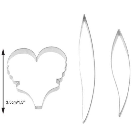 TinkerTech Orchid Miltassia Petal Cutter