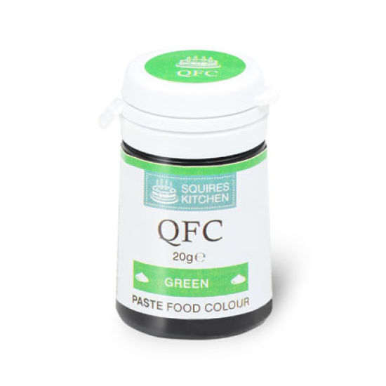 SK QFC Quality Food Colour Paste Green 20g