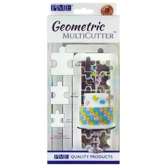 PME Geometric MultiCutter - Puzzle Set of 3