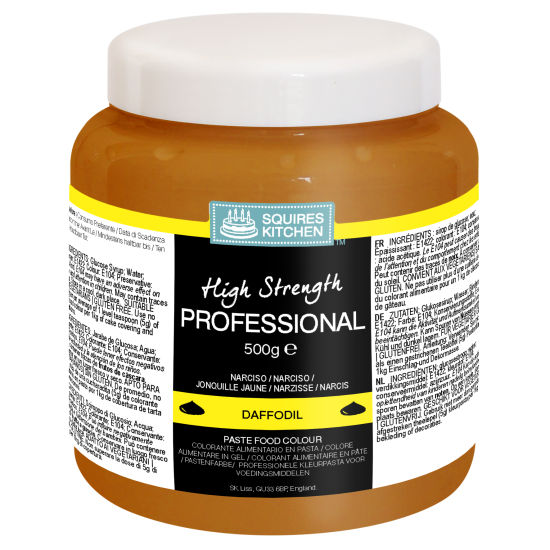 SK Professional Food Colour Paste Daffodil Yellow 500g