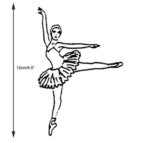 Patchwork Cutter & Embosser Ballerina
