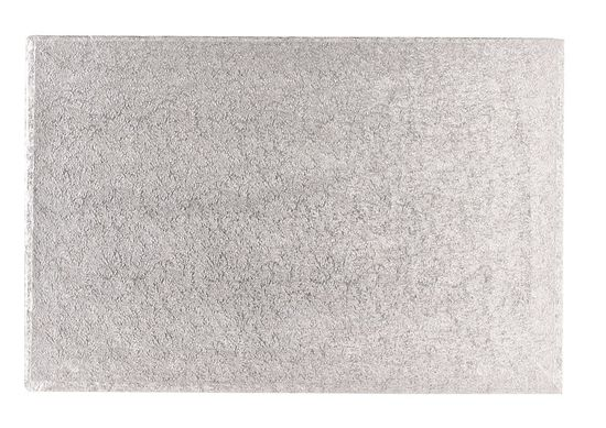 Silver Drum 1/2 Inch Thick Oblong 14x10 Inch