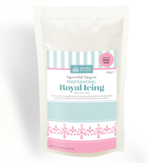 SK Royal Icing Bridal Rose 500g