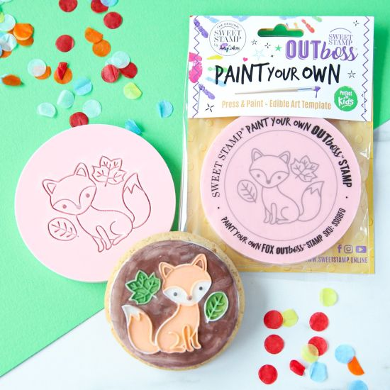 Sweet Stamp OUTboss Paint Your Own Fox