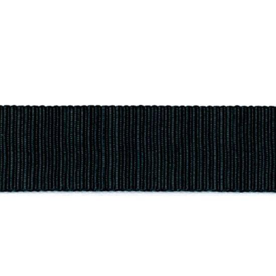 Black Grosgrain Ribbon 16mm