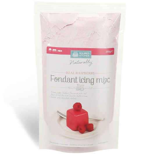 SK Fondant Icing Mix Real Raspberry 250g