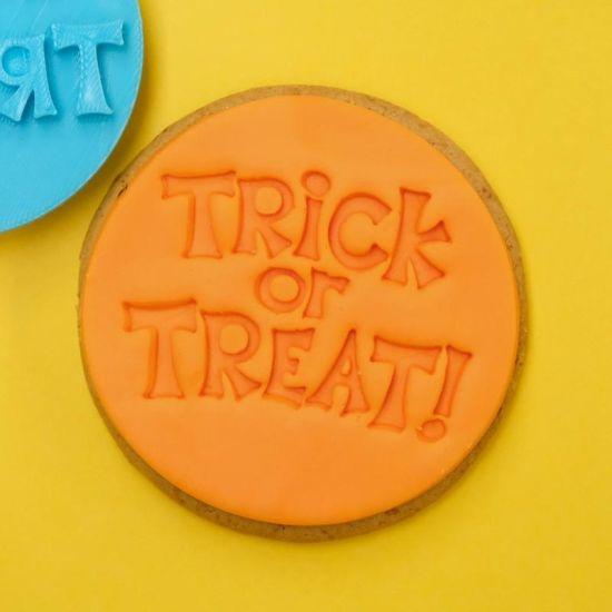 Sweet Stamp Trick or Treat Cupcake Embosser
