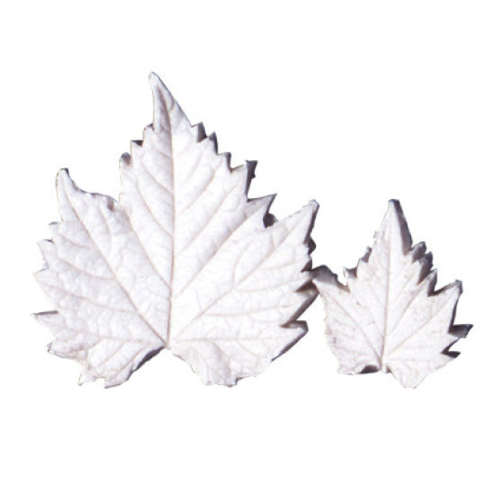 SK-GI Leaf Veiner Grapevine Set of 2 6.5/4.5