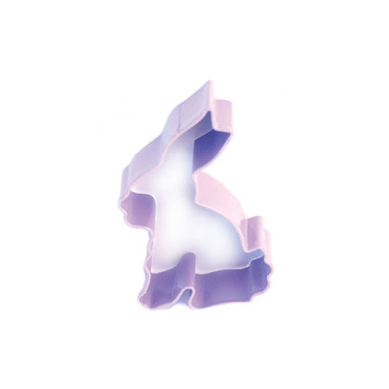 Metal Cookie Cutter - Lilac Bunny
