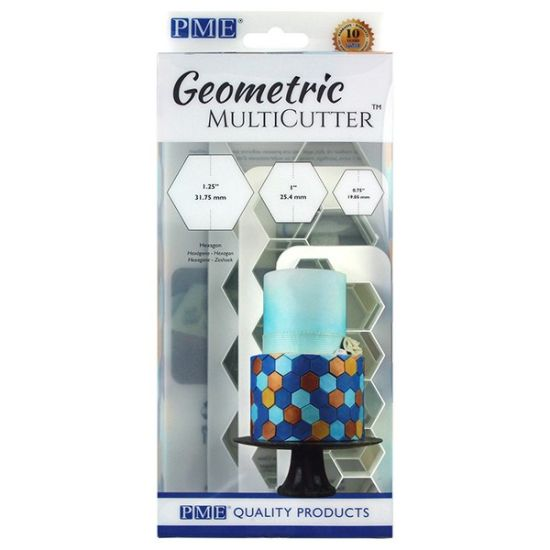 PME Geometric MultiCutter - Hexagons Set of 3