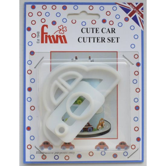FMM Cute Car Cutter Set of 2