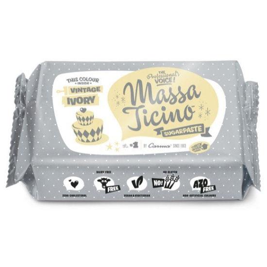 Massa Ticino Sugarpaste Vintage Ivory 250g