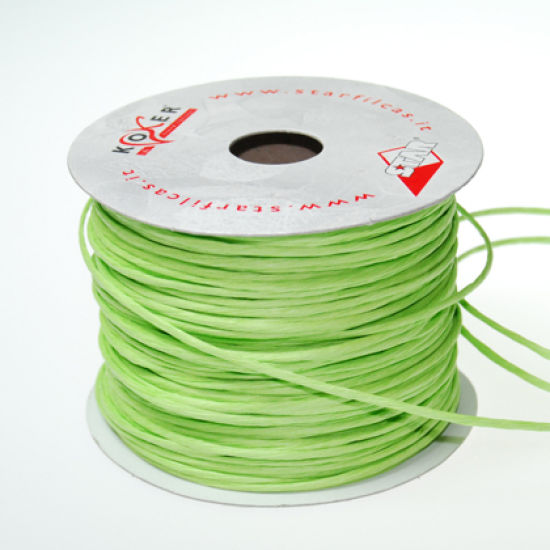 Apple Green Paper Wire - 50m